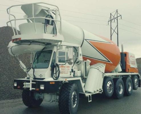 Concrete delivery Rhinelander WI